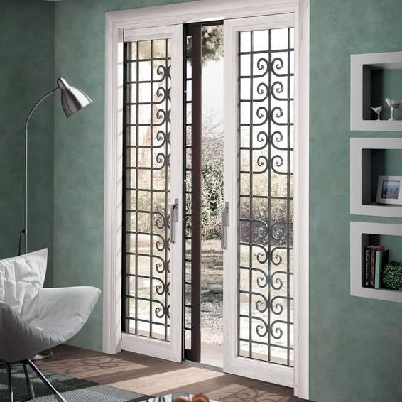 Scrigno gold para exteriores estruturas para janelas francesas e janelas retr teis - Porte in vetro da esterno ...
